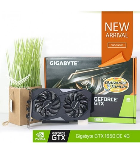Gigabyte GeForce GTX 1650 4GB DDR5 OC