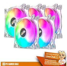 PC Gamer Bali Fan Casing CF8 Pro 5 in 1